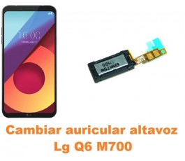 Cambiar auricular altavoz Lg Q6 M700