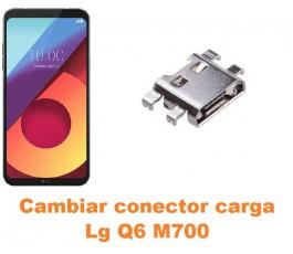 Cambiar conector carga Lg Q6 M700