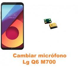 Cambiar micrófono Lg Q6 M700