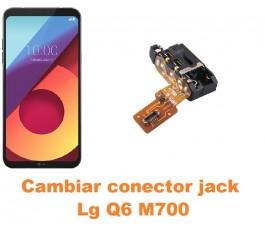 Cambiar conector jack Lg Q6 M700