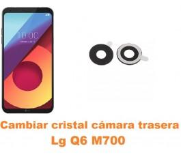Cambiar cristal cámara trasera Lg Q6 M700