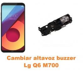 Cambiar altavoz buzzer Lg Q6 M700