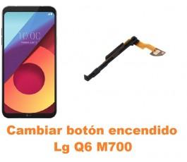 Cambiar botón encendido Lg Q6 M700