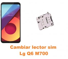 Cambiar lector sim Lg Q6 M700