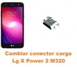 Cambiar conector carga Lg X Power 2 M320