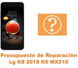 Presupuesto de reparación Lg K8 2018 K9 MX210