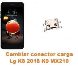 Cambiar conector carga Lg K8 2018 K9 MX210