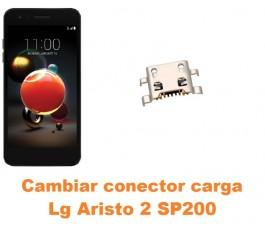 Cambiar conector carga Lg Aristo 2 SP200
