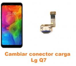 Cambiar conector carga Lg Q7