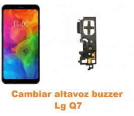 Cambiar altavoz buzzer Lg Q7