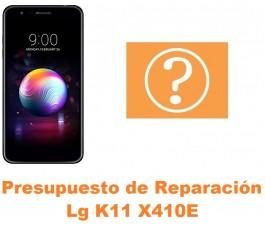 Presupuesto de reparación Lg K11 X410E