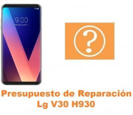 Presupuesto de reparación Lg V30 H930