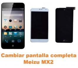 Cambiar pantalla completa Meizu MX2