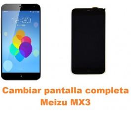 Cambiar pantalla completa Meizu MX3