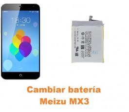 Cambiar batería Meizu MX3