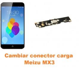 Cambiar conector carga Meizu MX3