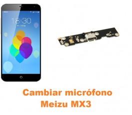 Cambiar micrófono Meizu MX3