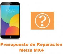 Presupuesto de reparación Meizu MX4