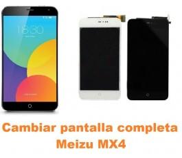 Cambiar pantalla completa Meizu MX4