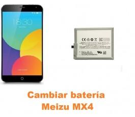 Cambiar batería Meizu MX4