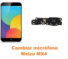 Cambiar micrófono Meizu MX4