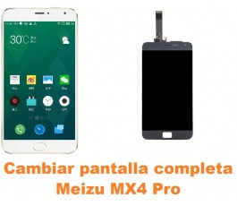 Cambiar pantalla completa Meizu MX4 Pro