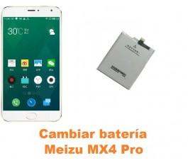 Cambiar batería Meizu MX4 Pro