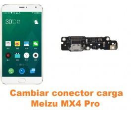Cambiar conector carga Meizu MX4 Pro
