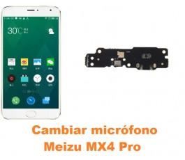 Cambiar micrófono Meizu MX4 Pro