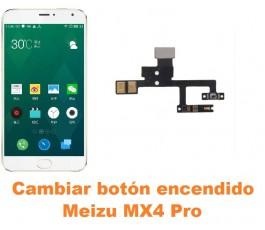 Cambiar botón encendido Meizu MX4 Pro
