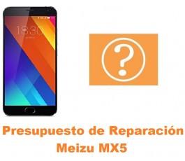 Presupuesto de reparación Meizu MX5