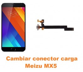Cambiar conector carga Meizu MX5