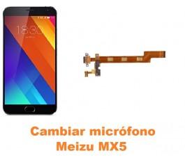 Cambiar micrófono Meizu MX5