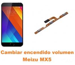 Cambiar encendido y volumen Meizu MX5