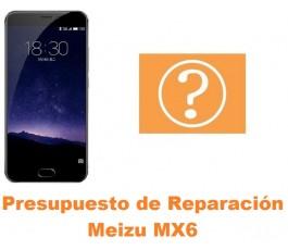 Presupuesto de reparación Meizu MX6