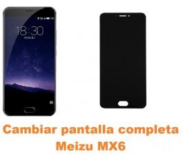 Cambiar pantalla completa Meizu MX6