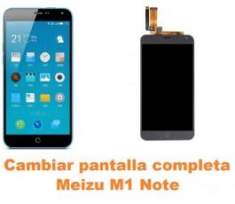 Cambiar pantalla completa Meizu M1 Note