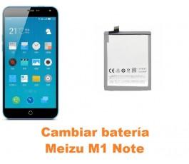 Cambiar batería Meizu M1 Note