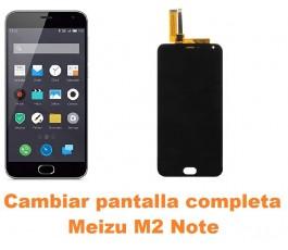 Cambiar pantalla completa Meizu M2 Note