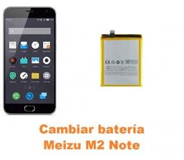 Cambiar batería Meizu M2 Note