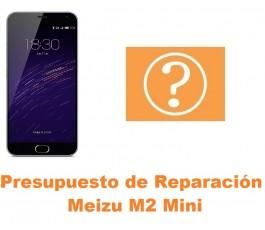 Presupuesto de reparación Meizu M2 Mini