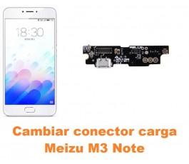 Cambiar conector carga Meizu M3 Note