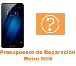 Presupuesto de reparación Meizu M3E