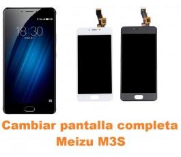 Cambiar pantalla completa Meizu M3S