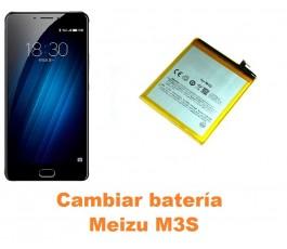 Cambiar batería Meizu M3S