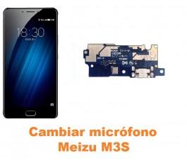 Cambiar micrófono Meizu M3S