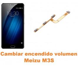 Cambiar encendido y volumen Meizu M3S