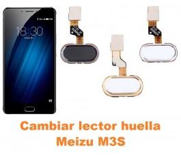 Cambiar lector huella Meizu M3S