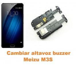 Cambiar altavoz buzzer Meizu M3S