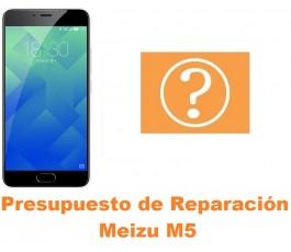 Presupuesto de reparación Meizu M5